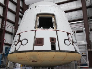 First Operational Dragon Spacecraft - Wikimedia Commons